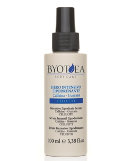 Byotea Body Care intenzivní lipo-drenážní spray s kofeinem a guaranou 100ml