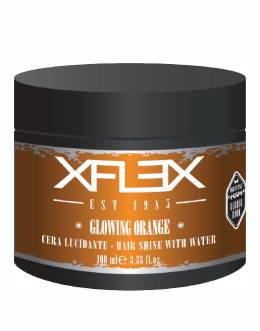 Xflex Vosk GLOWING ORANGE modelovací s extra leskem 100ml