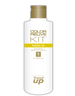Trend up COLOR RELIVE KIT Šampon jojobový olej pro obnovu, lesk a vitalitu 300ml