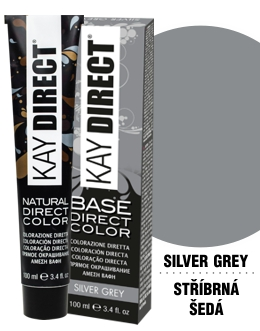 Kay Direct barva Silver Grey 100ml
